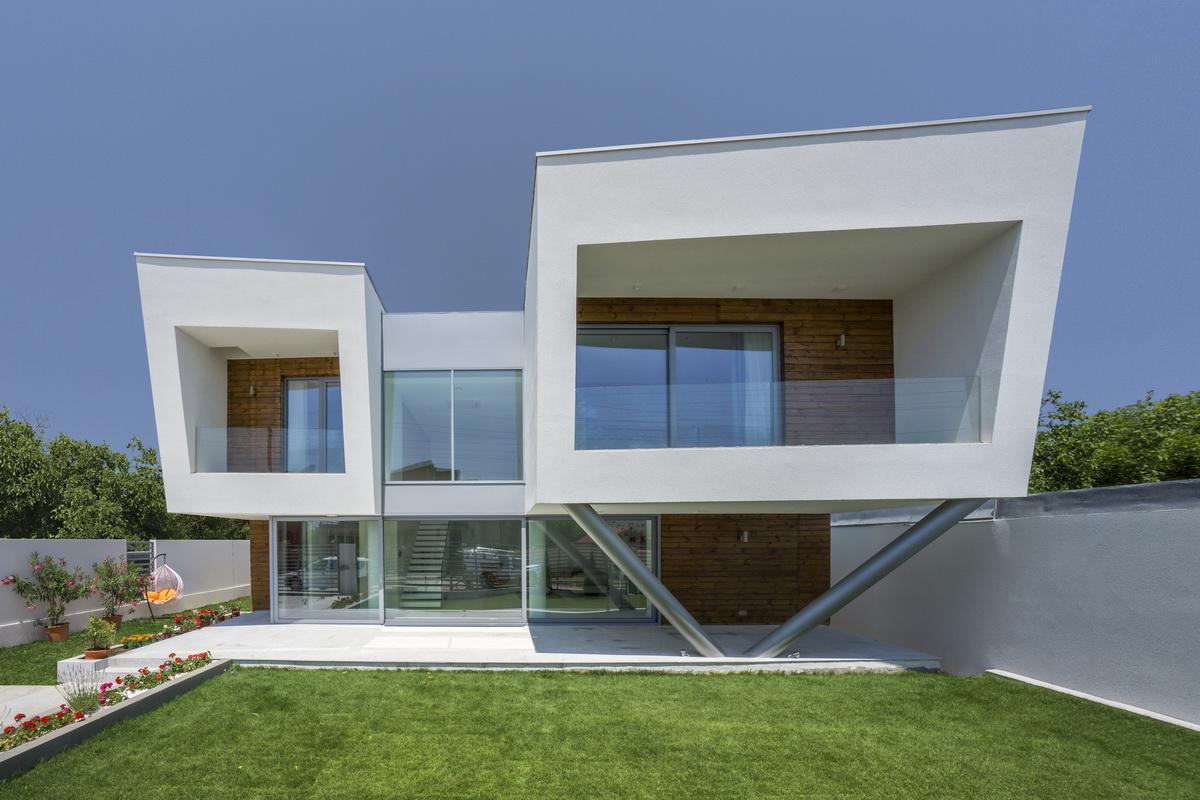 Arch bogdan andrei fezi gis bucharest for Architettura moderna case